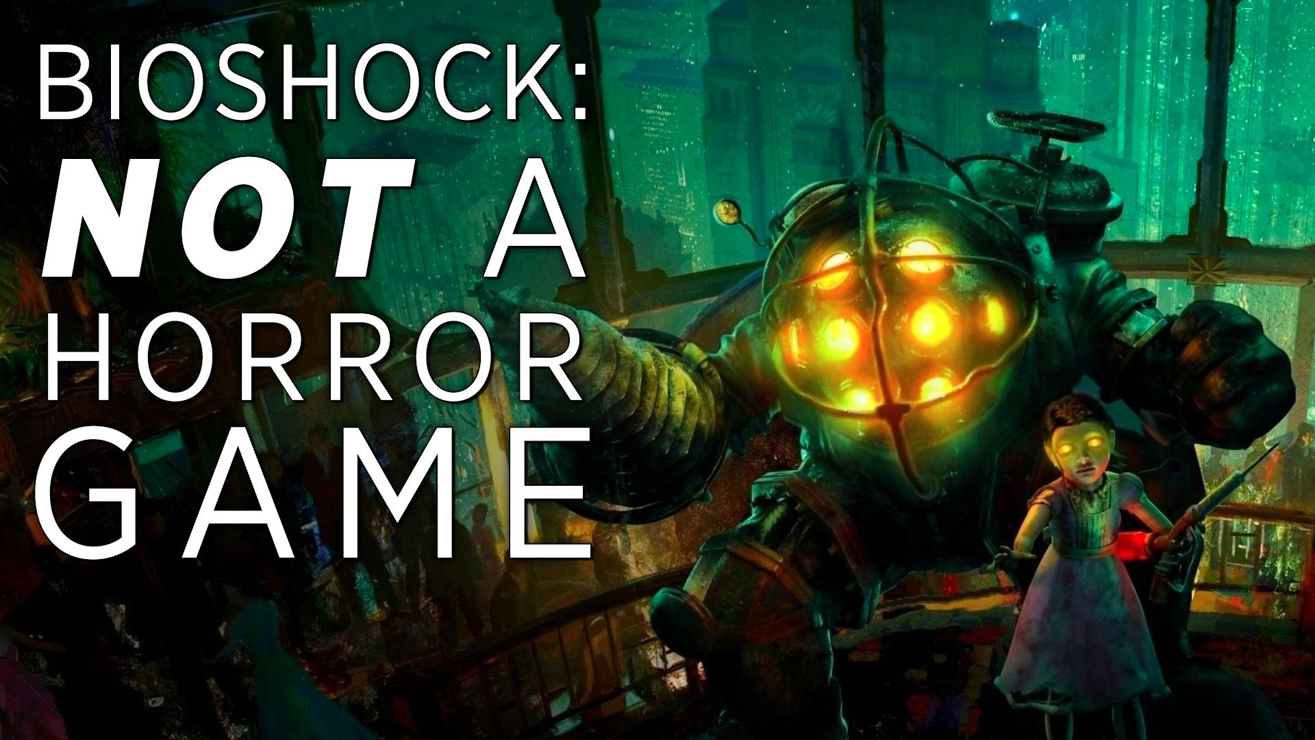 the moment bioshock stops being a horror game polygon
