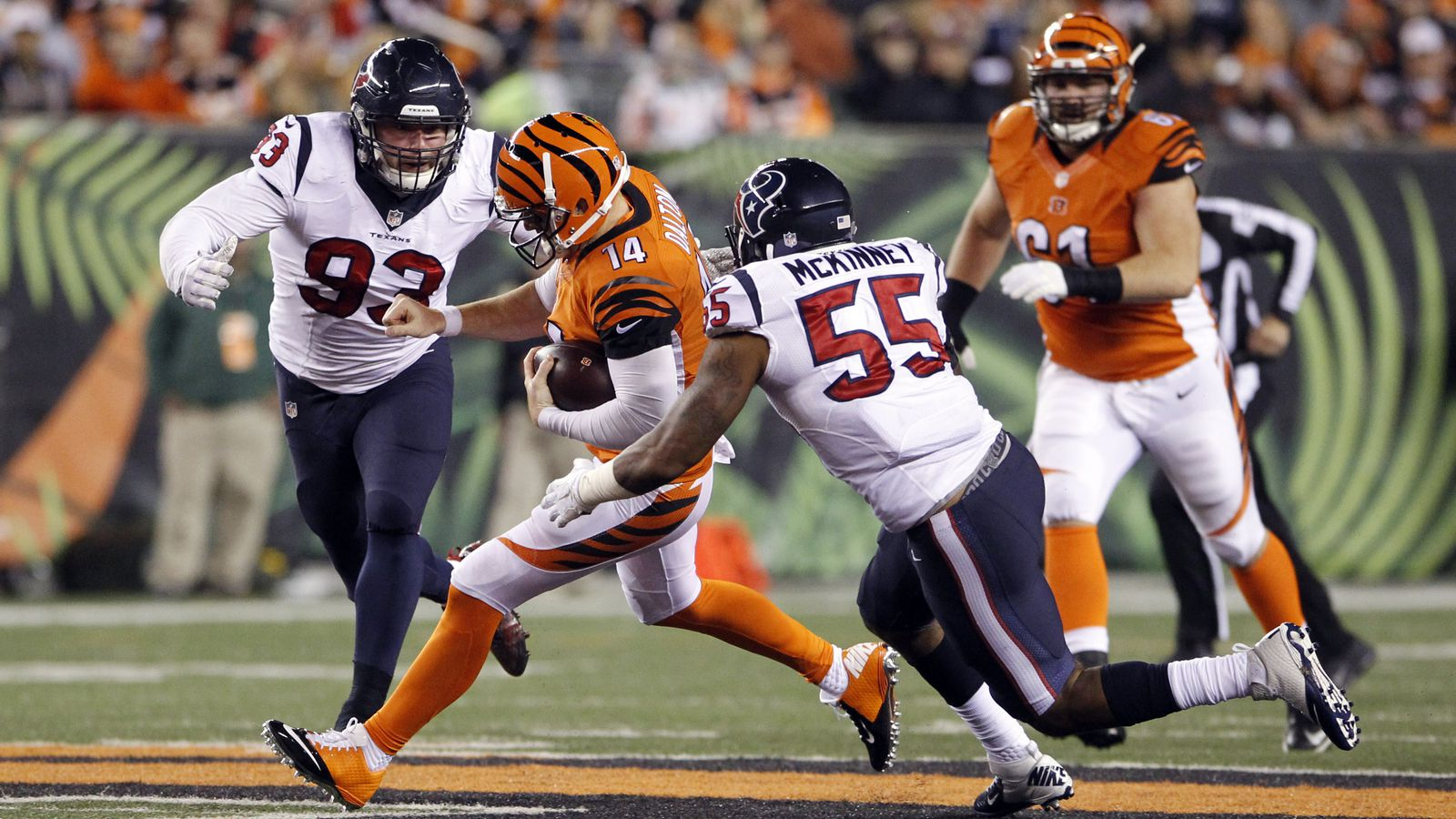 Texans Vs Bengals 2015 Final Score Cincinnati Unbeaten