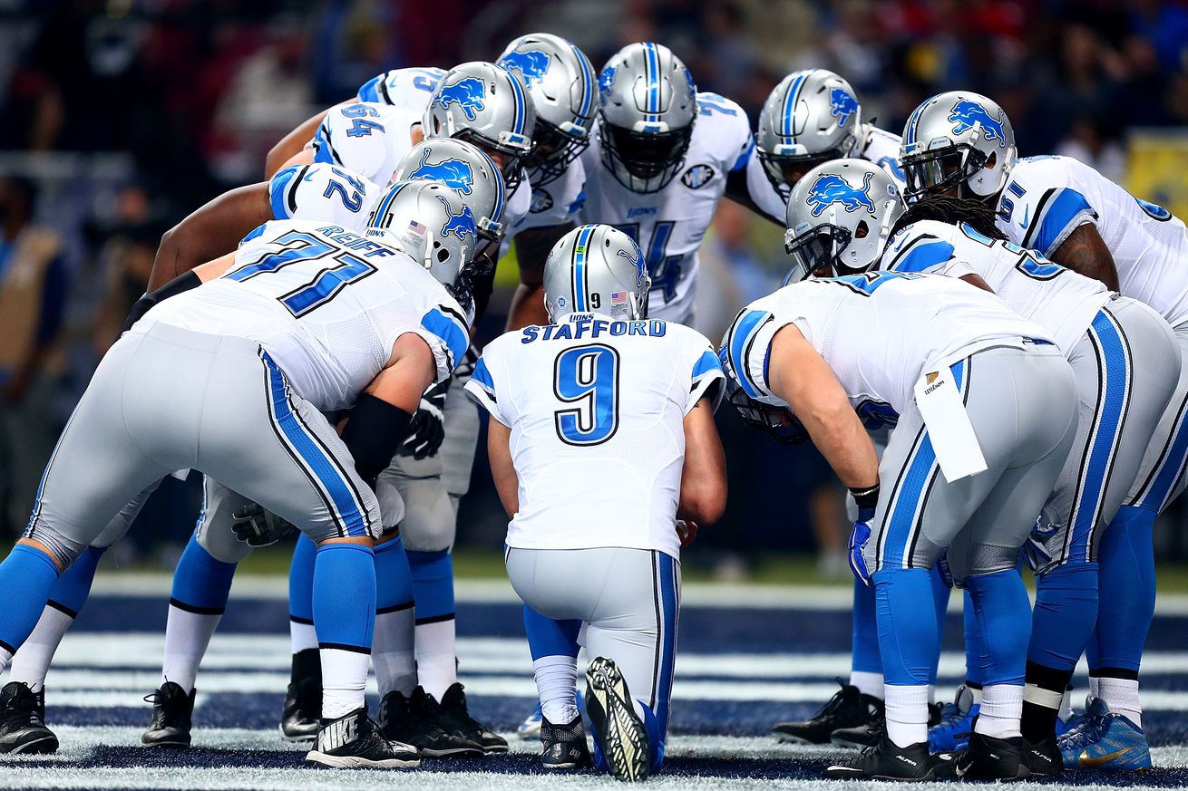 Official Nike Jerseys Cheap - Detroit Lions release unofficial 2016 depth chart - Pride Of Detroit