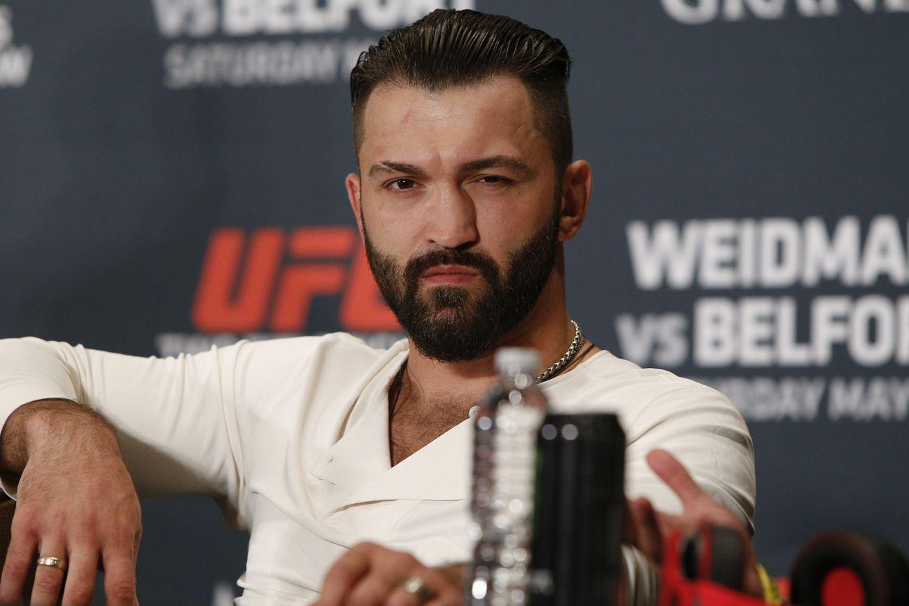 Andrei Arlovski vs. Josh Barnett set to headline UFC Fight Night Hamburg
