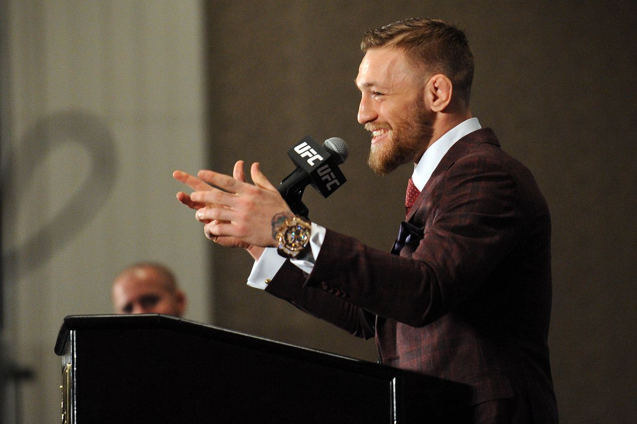 UFC fans go nuts for Conor McGregor in behind the scenes video of Notorious PPV in England