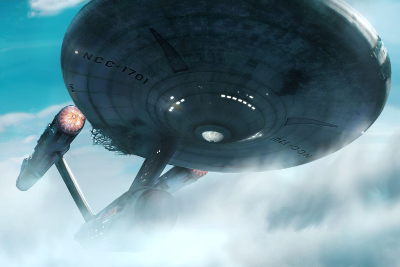 this is what the original enterprise would look like in