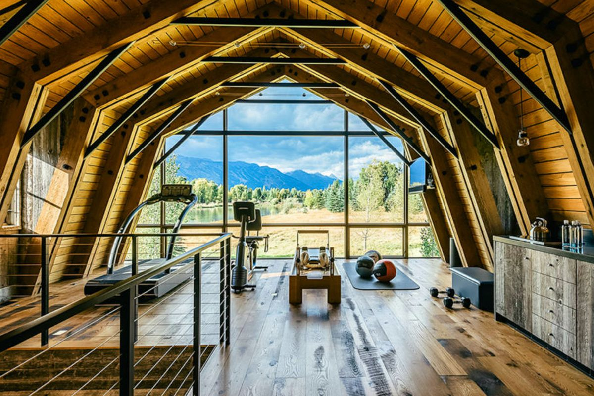Barn Living Meets Amazing Mountain Views In This