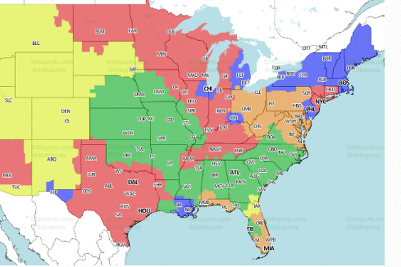 Buffalo Bills vs. Oakland Raiders: TV map bigger this week