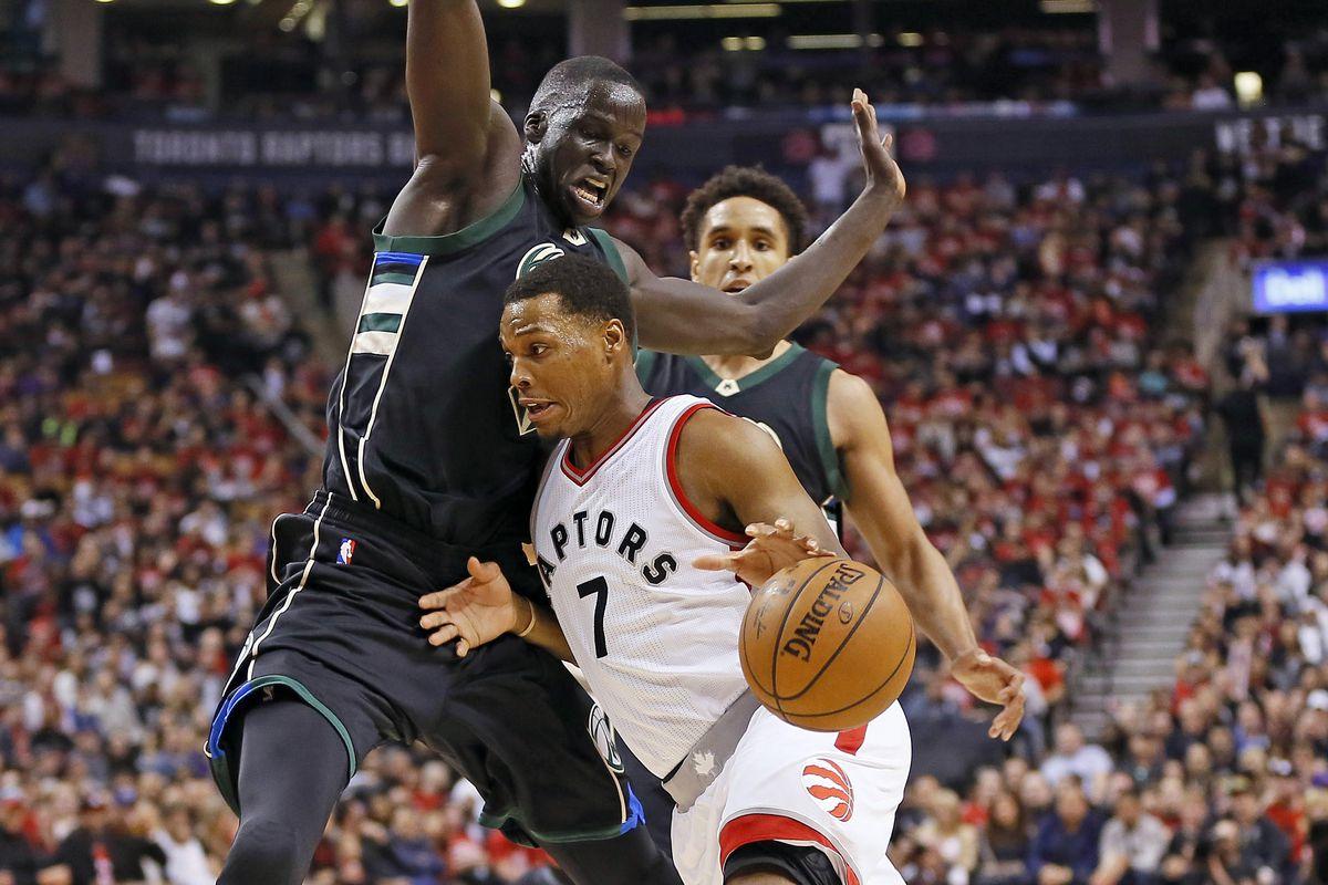 Raptors top Bucks in Game 2 duel to tie series