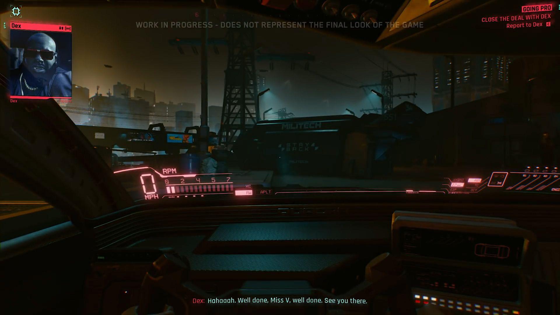 Cyberpunk 2077 looks amazing at night