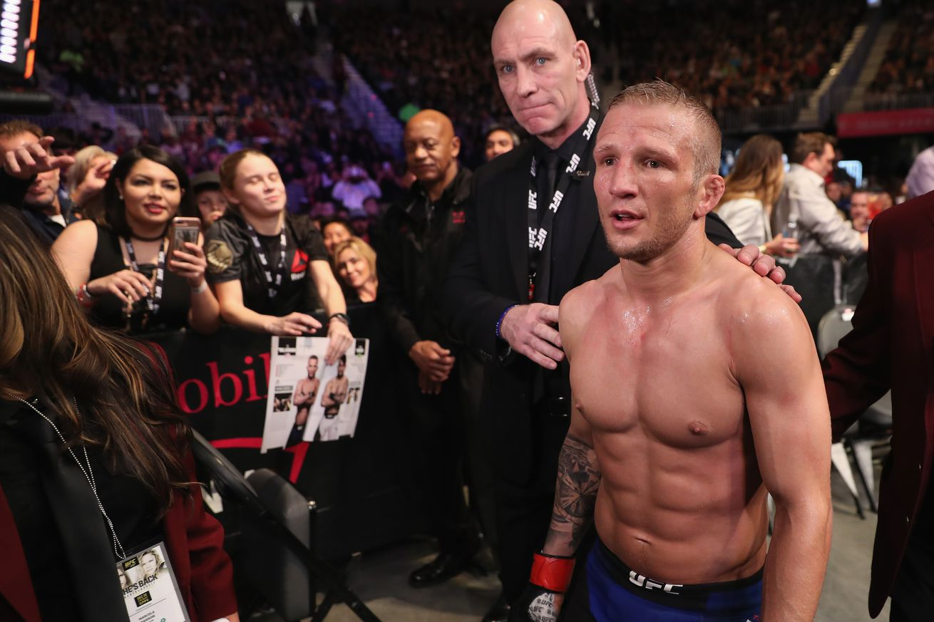 community news, TJ Dillashaw suggests Cody Garbrandt is only mad at him because 'Urijah is Cody's daddy'