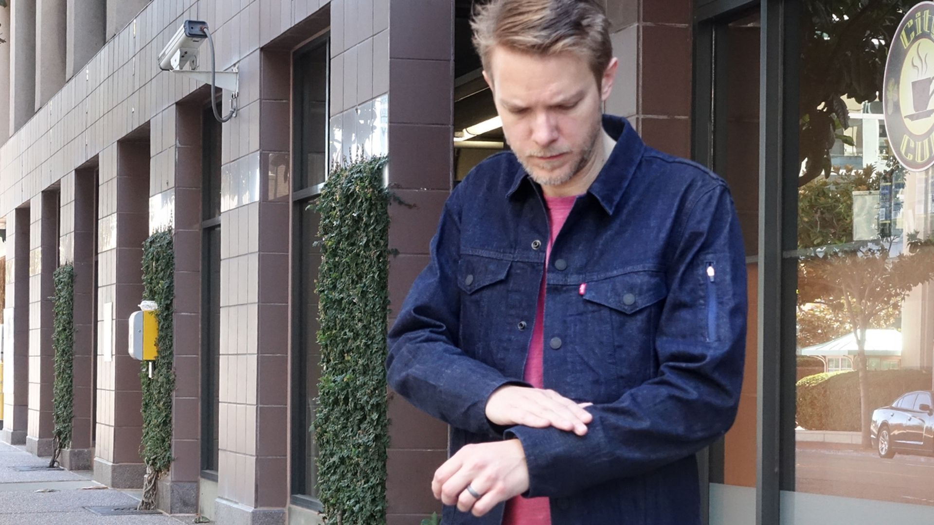 This Levis jacket with a smart sleeve is finally going on sale for $350