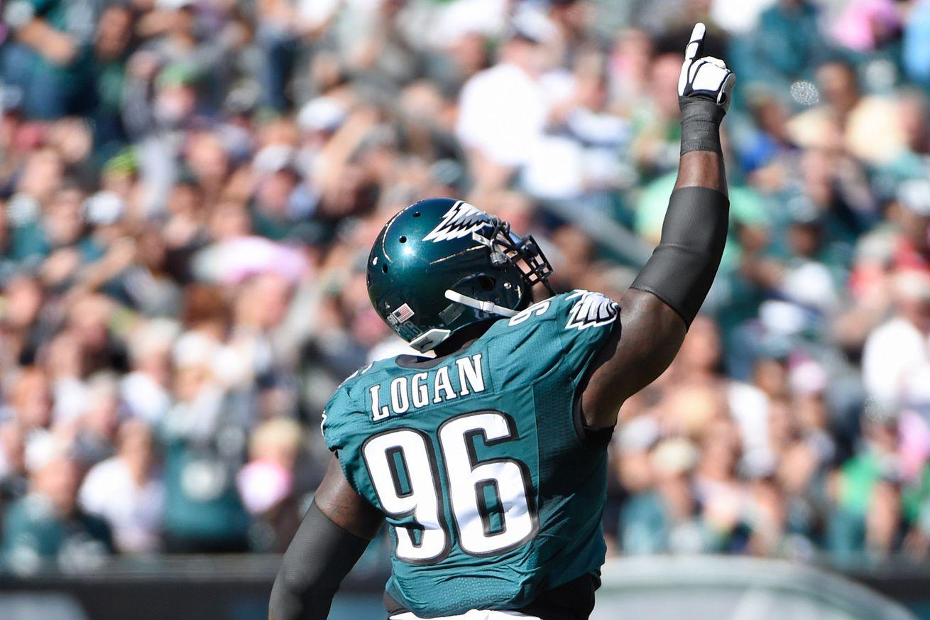 nfl Philadelphia Eagles Bennie Logan GAME Jerseys