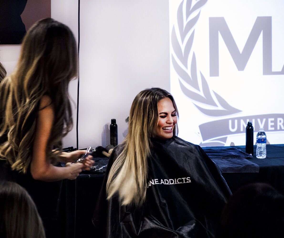 I Attended An Intense Hair Extension Class With Chrissy Teigen The