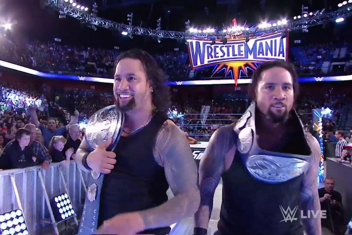 The Usos Beat American Alpha to Become WWE SmackDown Tag Team Champions