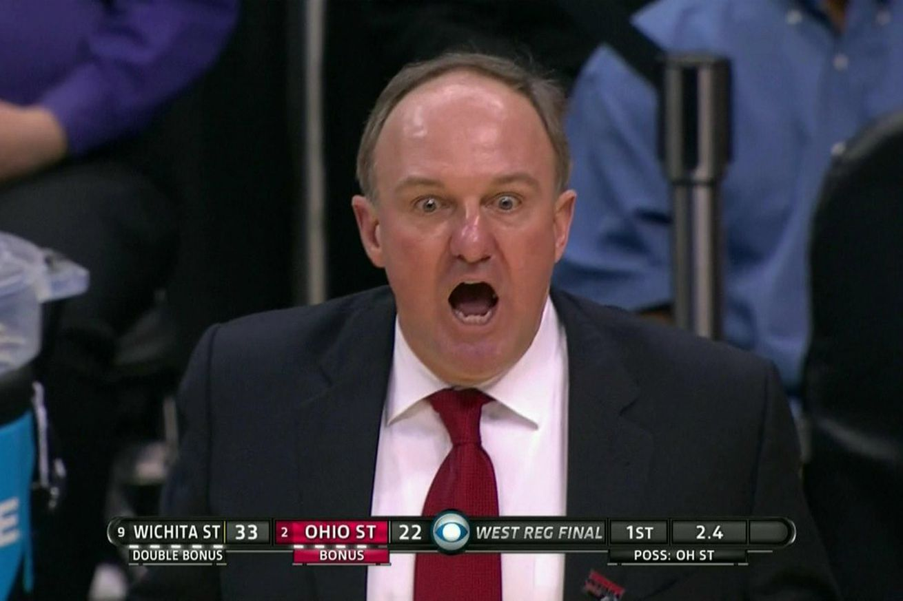 Thad matta can't believe how the first half went   sbnation.com