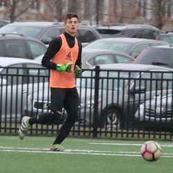 Goalkeeper Tomas Romero