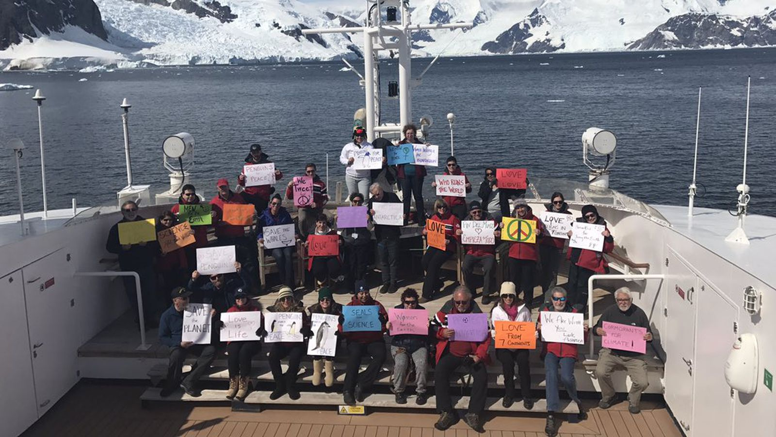 theverge.com - Andrew Liptak - The Women's March movement is taking place on every continent, even Antarctica