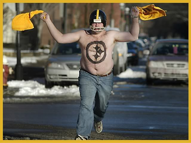 Image result for typical steelers fan