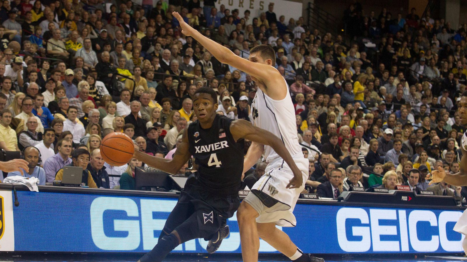 Xavier Storms Back to Defeat Wake Forest 78-70 - Blogger ...