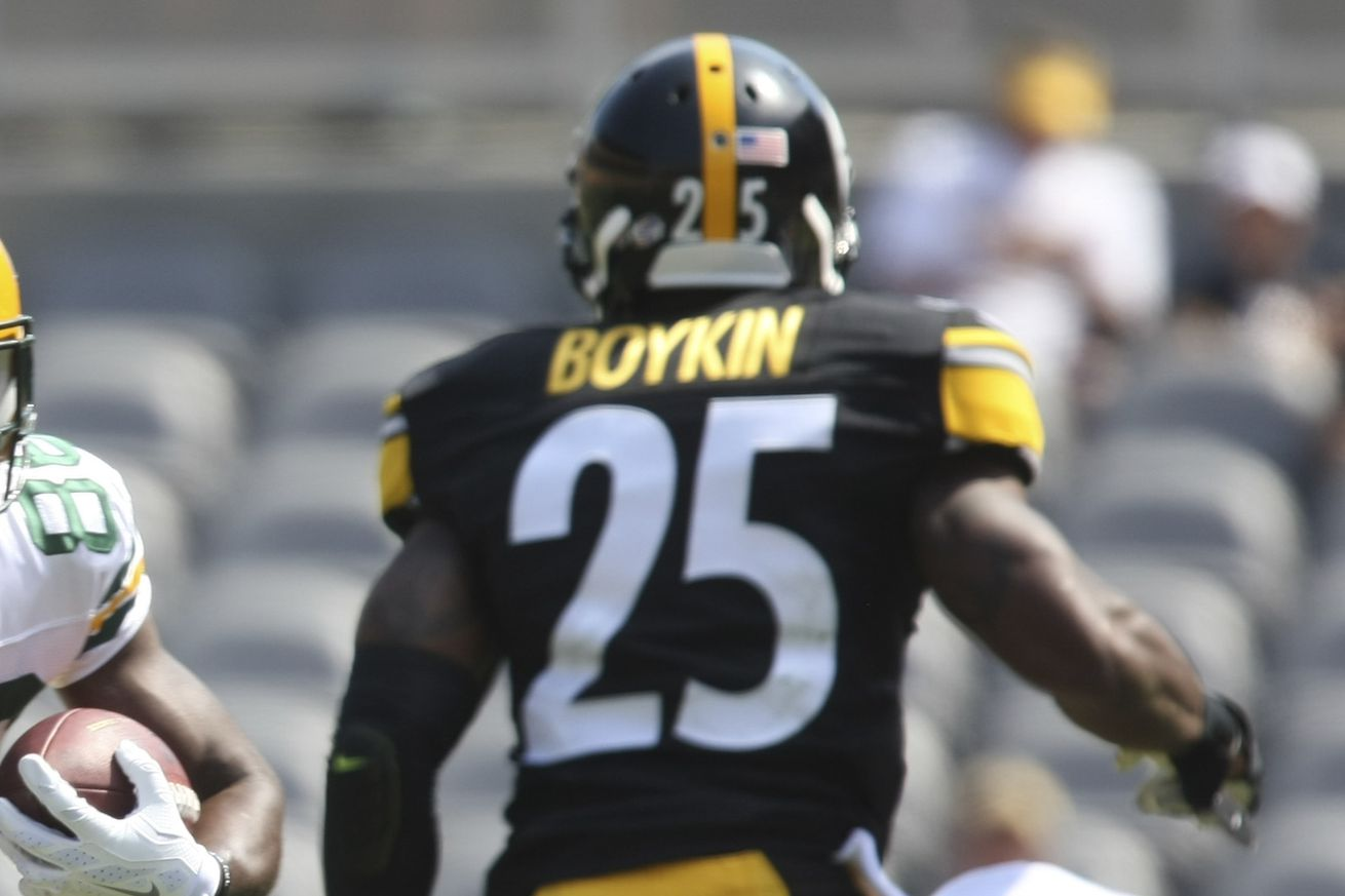 Brandon Boykin isn't even going to be starting for the Pittsburgh ...