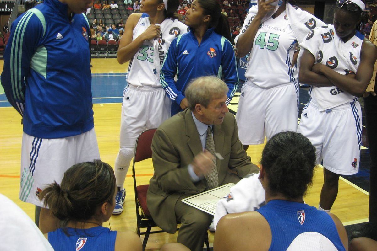 photo essay washington mystics at new york liberty swish appeal new york liberty coach john whisenant goes over a few things during a time out in their 69 66 win over the washington mystics yesterday