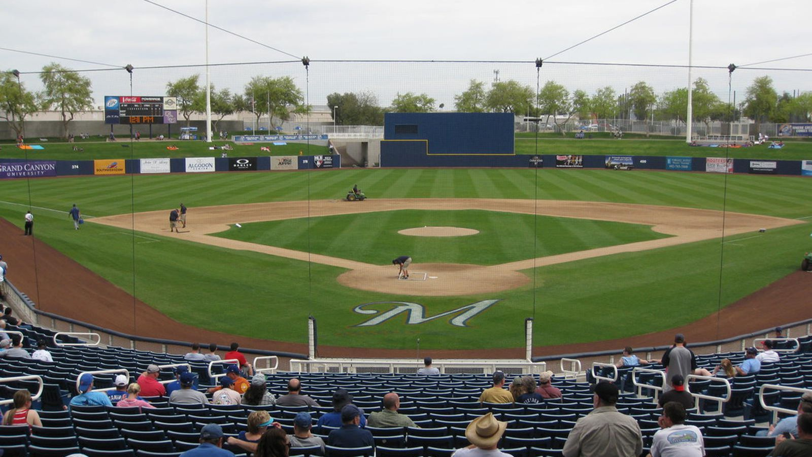 Spring Training Stadium Tour Maryvale Baseball Park True Blue La
