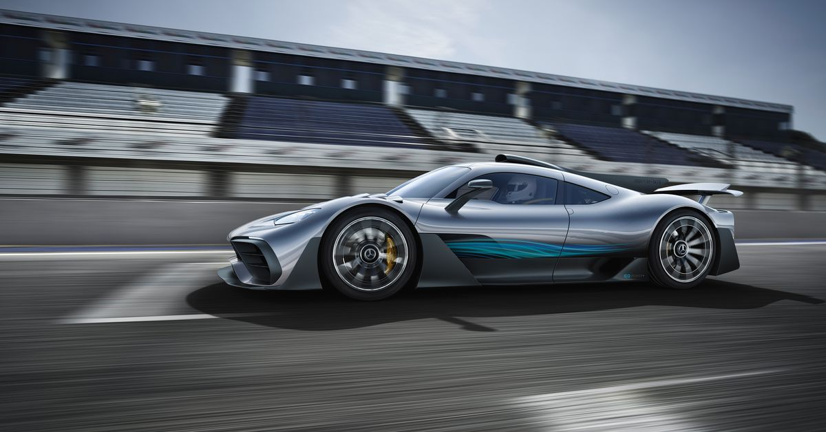 The Mercedes-AMG Project ONE Showcar will make your F1 dreams come true