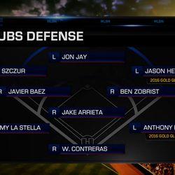 The Chicago Cubs' championship defense in <em>MLB 17</em>, with full MLB Network presentation.