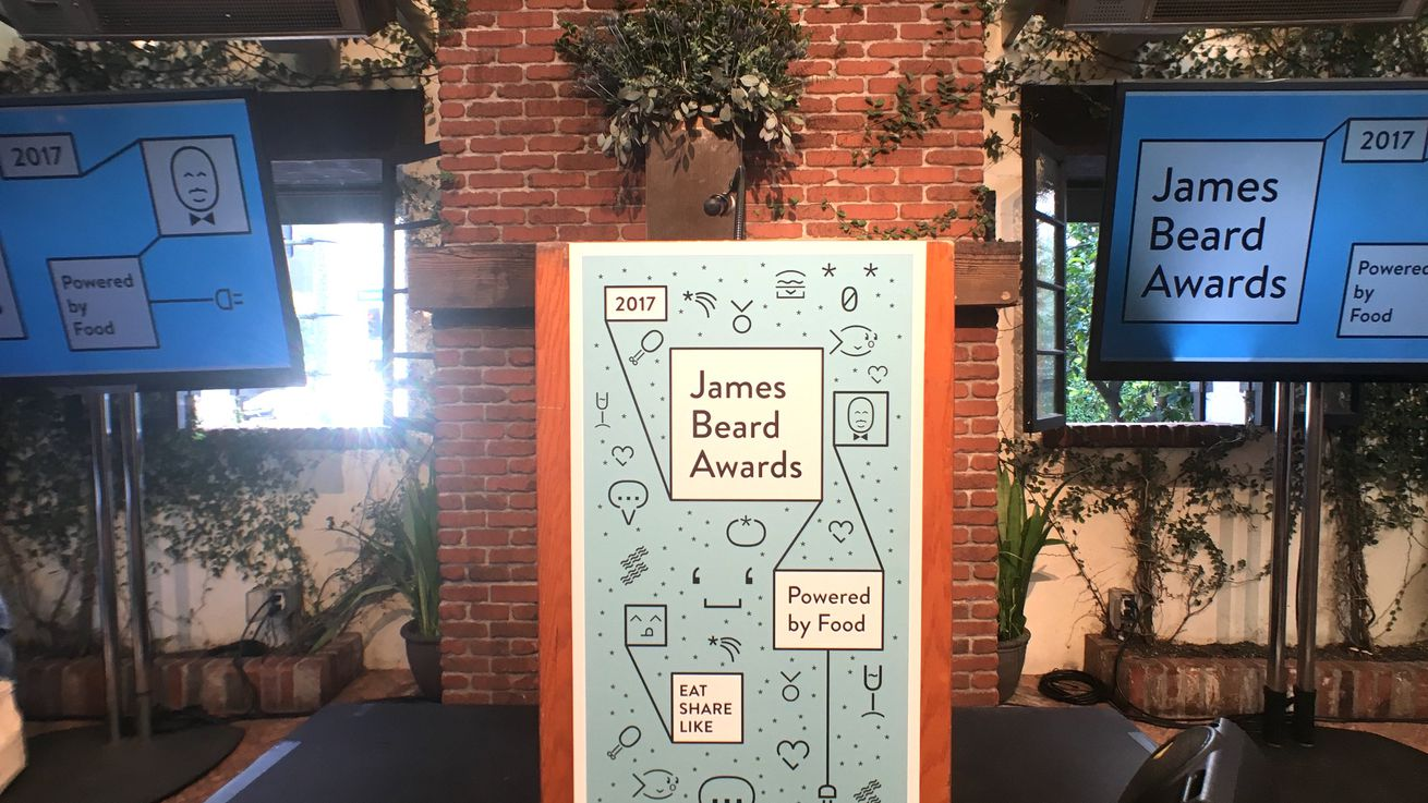 Live: James Beard Foundation Announces 2017 Awards Finalists
