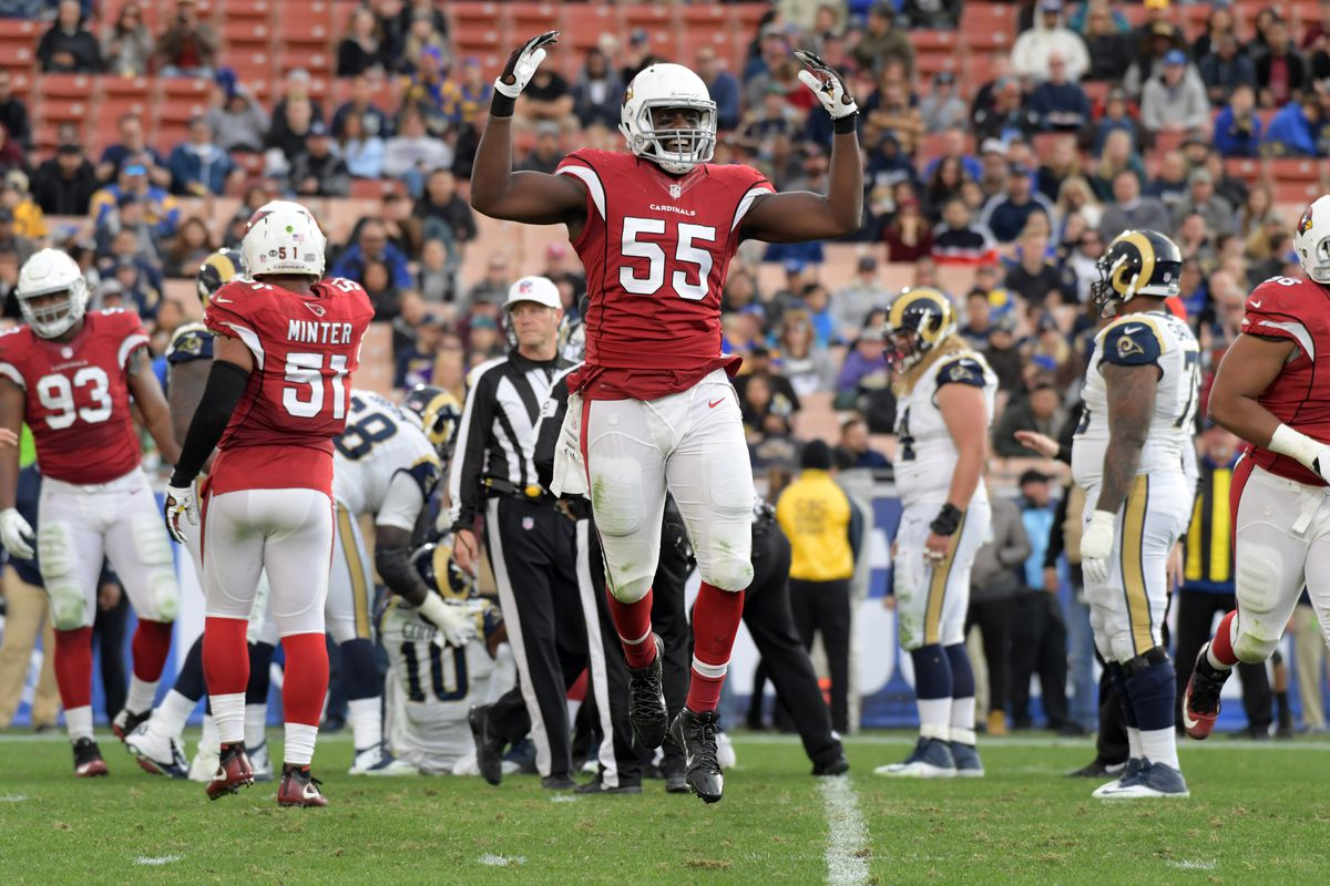 Cardinals DE Jones gets franchise tag