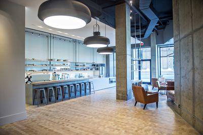 Inside Revelator Coffee Company's Westside cafe.