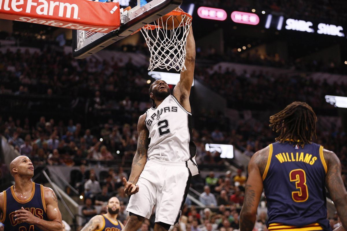 Leonard scores 25 as Spurs dismantle ailing Cavs, 103-74