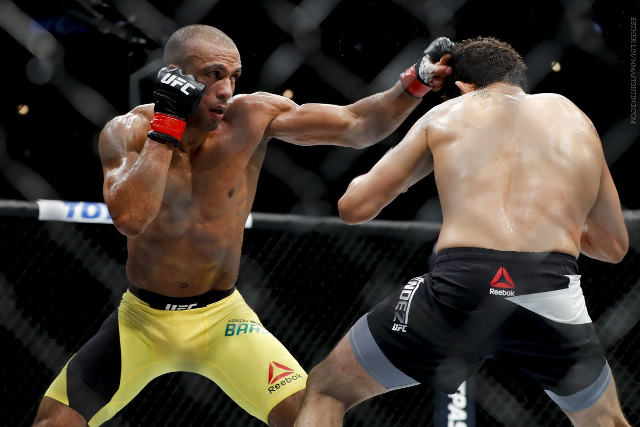 UFC on FOX 20 results: Edson Barboza punishes Gilbert Melendez
