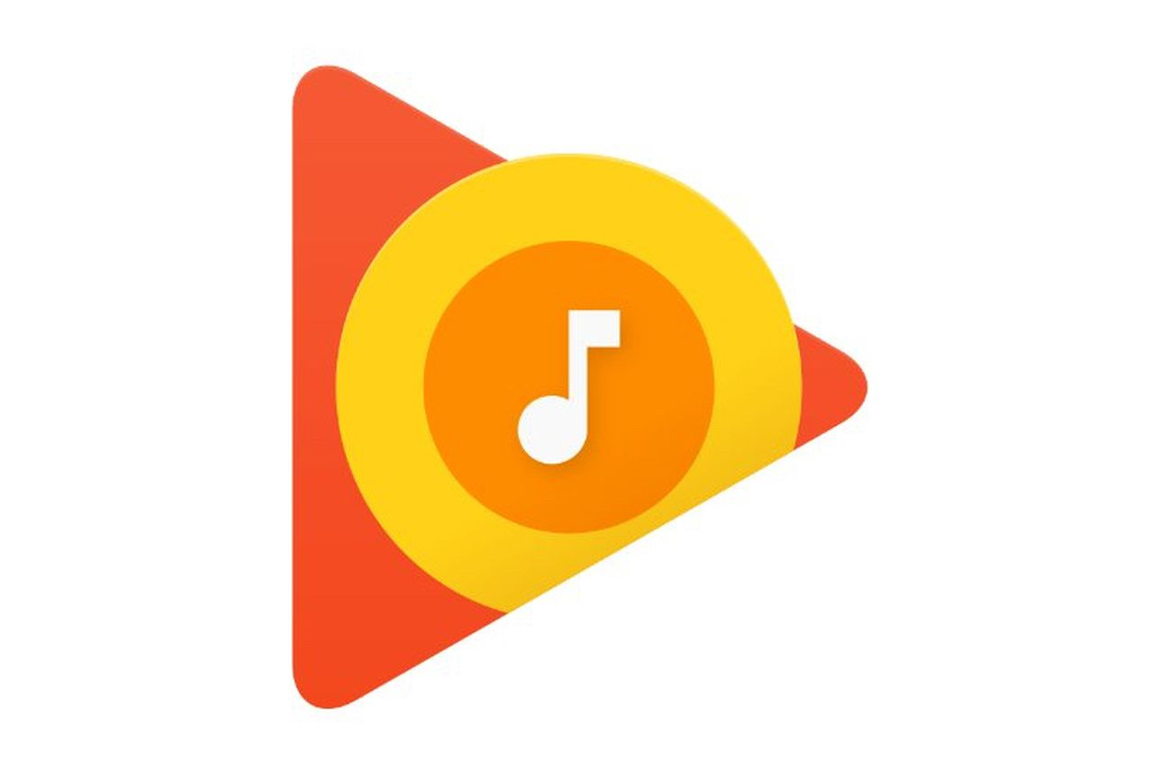 Google play music replaced its old headphones logo with Play app