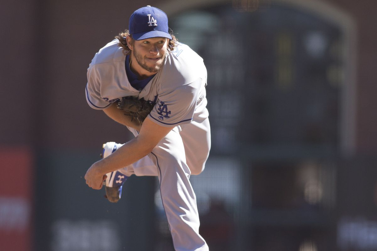 Clayton Kershaw earns 20th career win against rival Giants