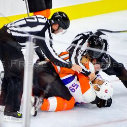 Did you really think it would be a good idea to try and fight Sam Morin?