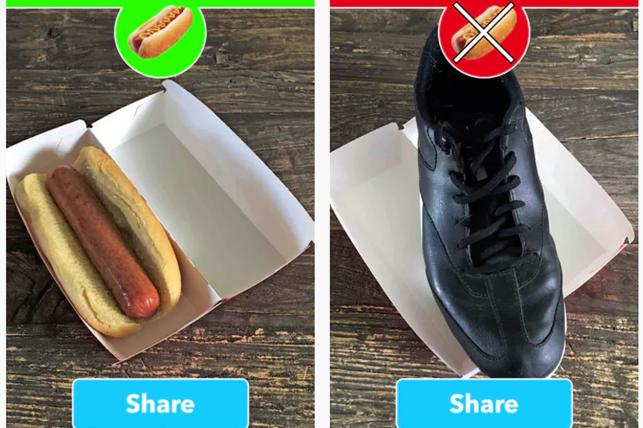 The hot dog-identifying app from HBO's Silicon Valley is real, and you can download it now
