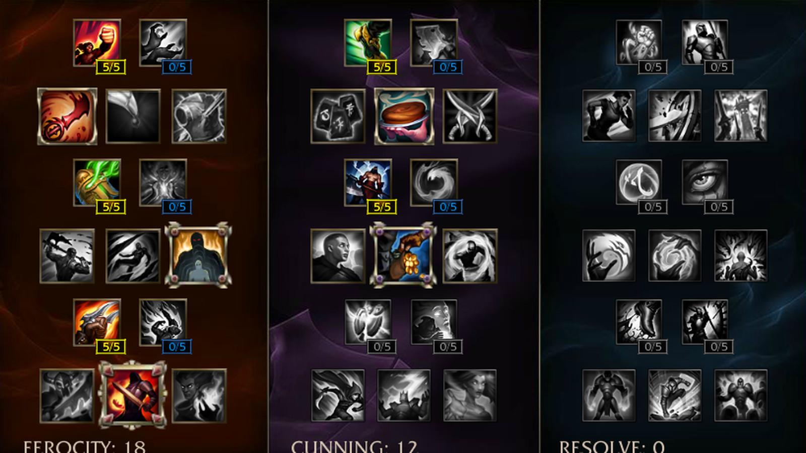 Gnar Build New Runes