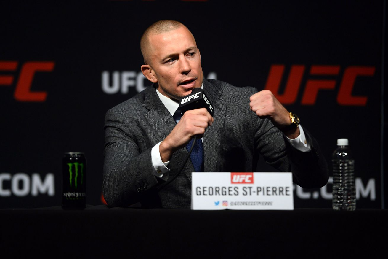 community news, Georges St Pierre claims size advantage wont save middleweight champ Michael Bisping