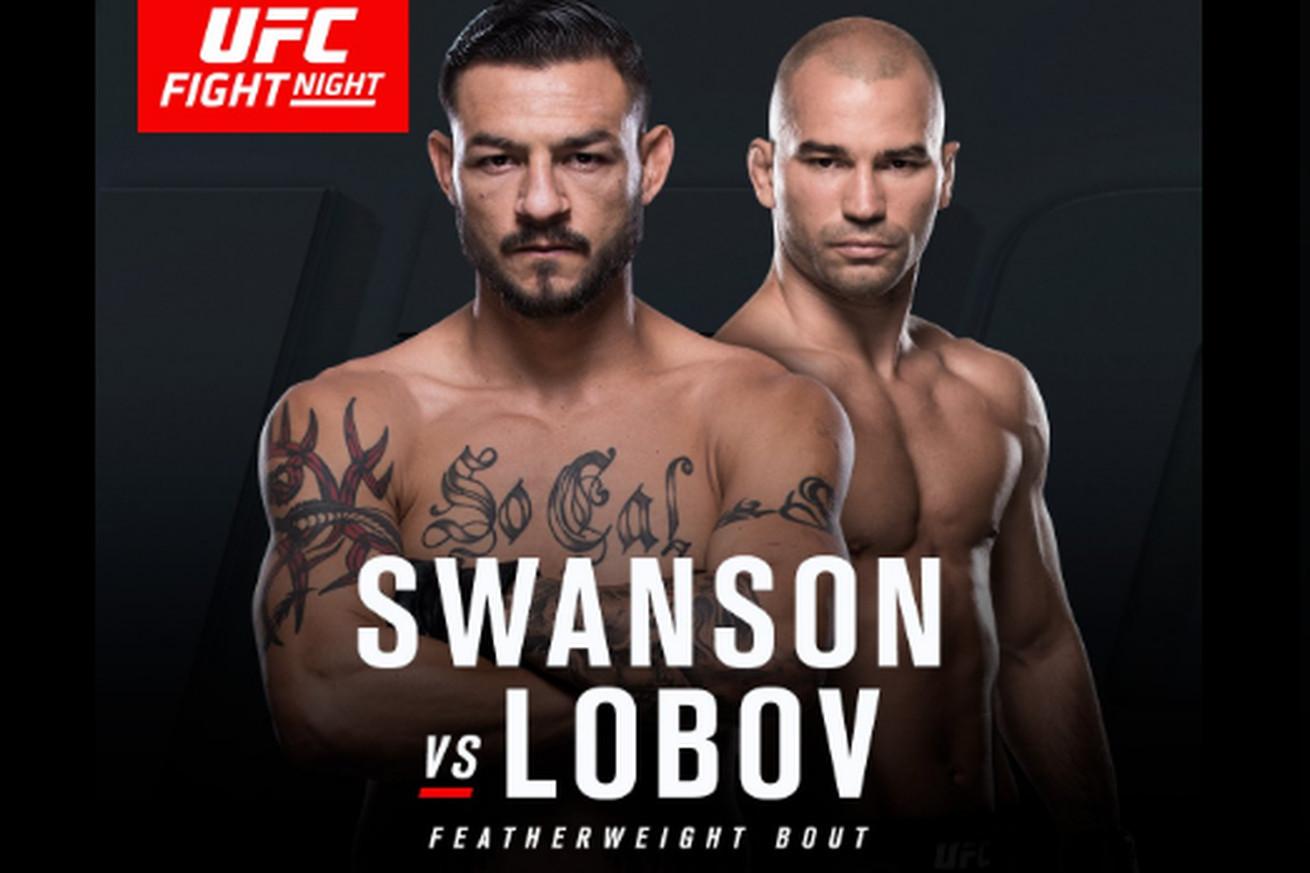 community news, Cub Swanson vs. Artem Lobov set to headline UFC Fight Night on April 22 from Nashville