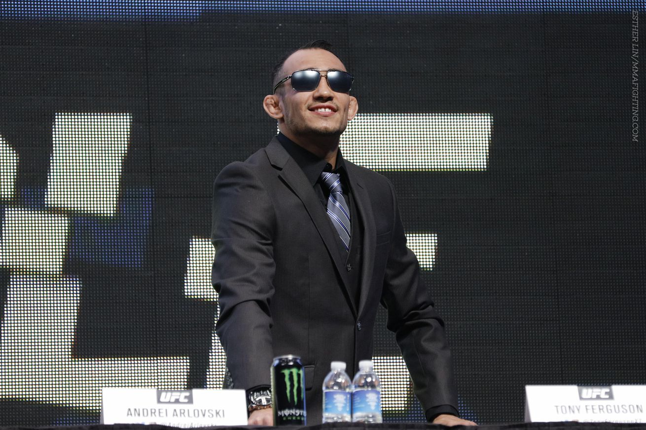 Morning Report: Tony Ferguson goes off on Conor McGregor: 'He's trying to look for excuses on his way out'