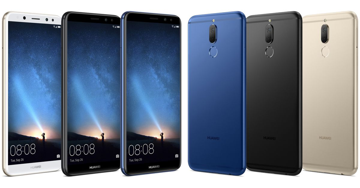 Huawei's Mate 10 Lite will come with four cameras
