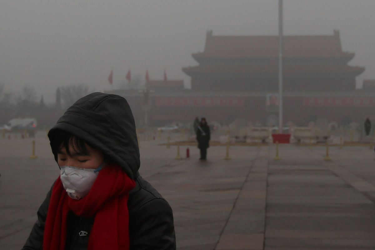 Melting Arctic ice likely worsens winter haze in China