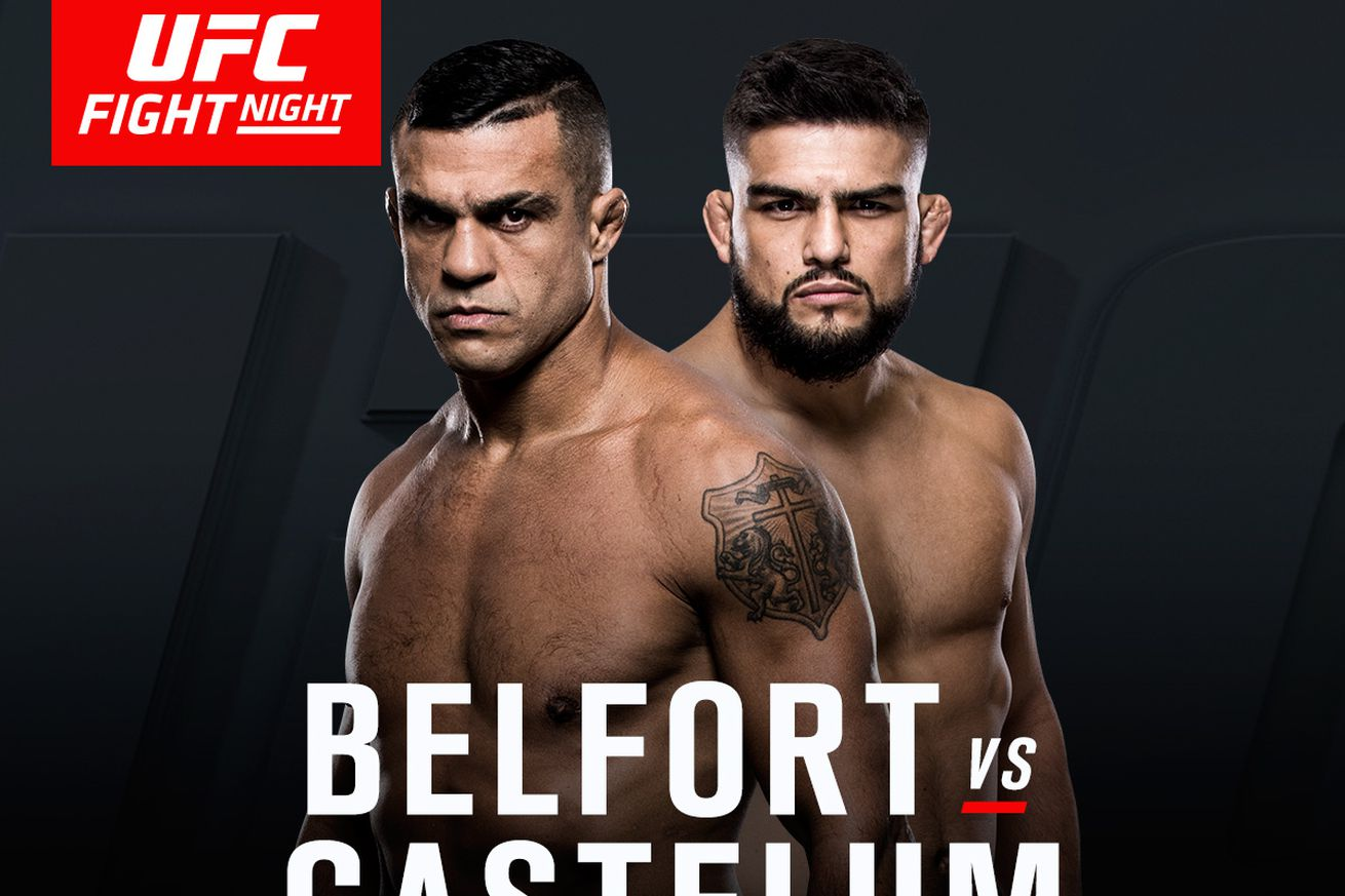 Latest UFC Fight Night 106 fight card, rumors, and updates for Belfort vs Gastelum on March 11 in Fortaleza, Brazil