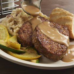 Meatloaf at Metro Diner