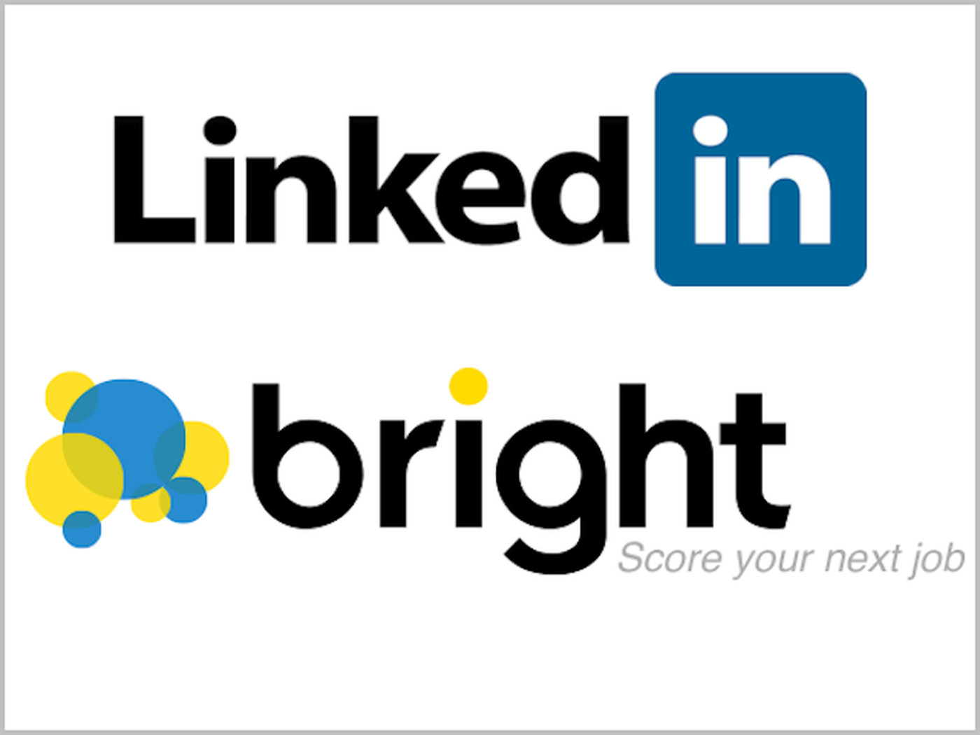linkedin to acquire job seeking site bright for 120 million recode