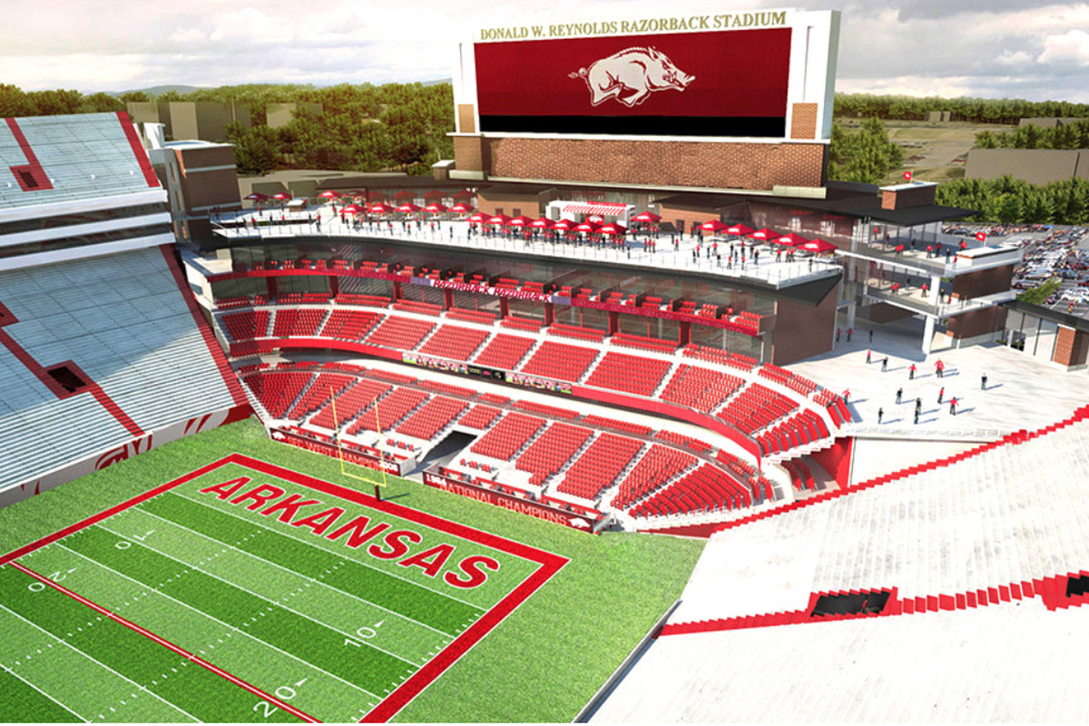Arkansas Releases More Photos And Details Of North End