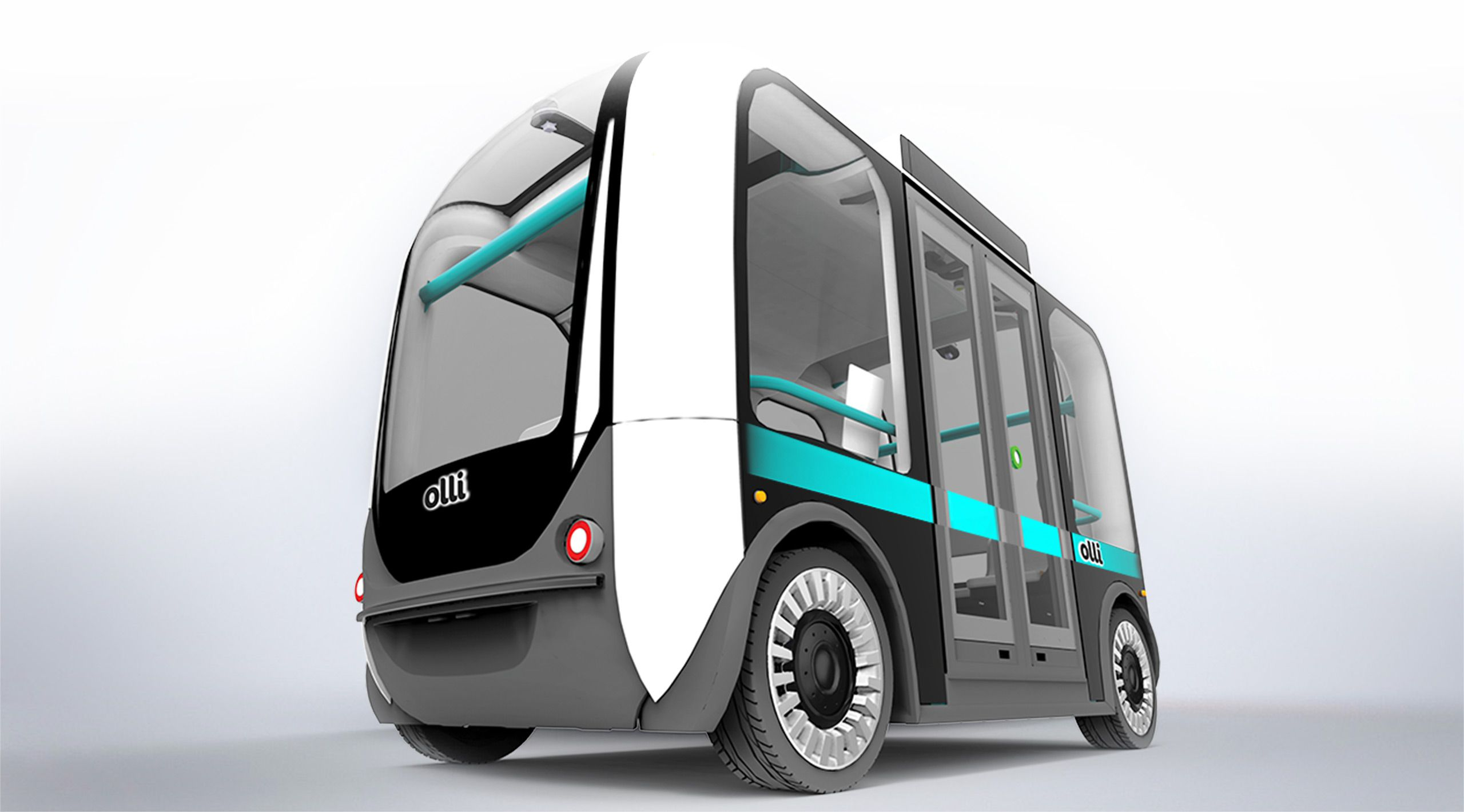 The Olli, a self-driving bus from Arizona-based Local Motors.