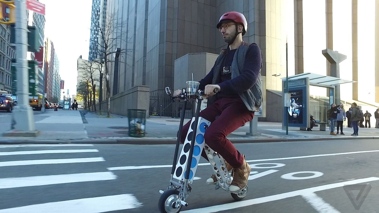 This Electric Scooter Is The Ultimate Hipster Dad Chariot