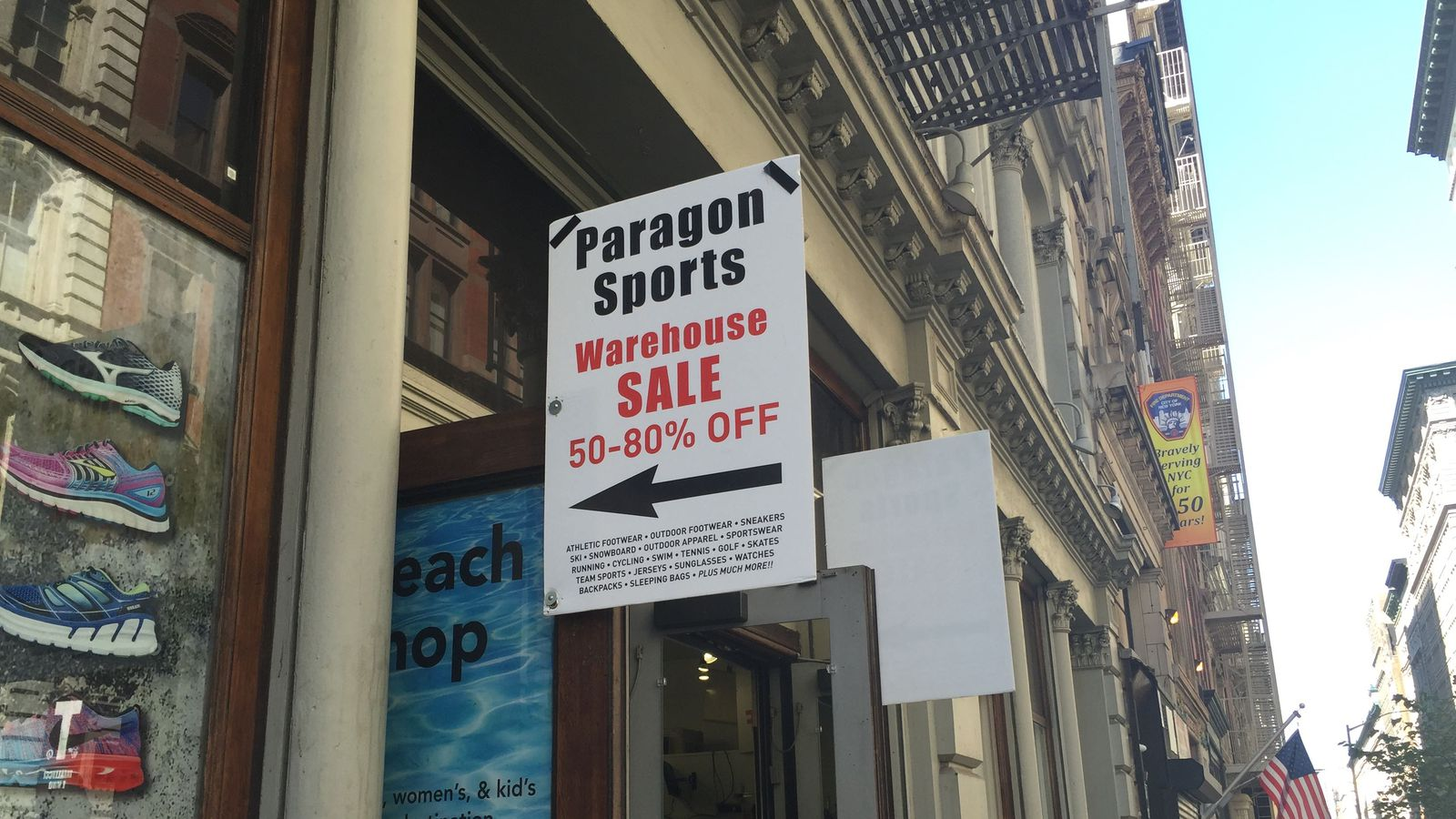 Paragon Sports September 10, Our Warehouse Sale begins 9/11 until 9/22 featuring % off many great products including athletic footwear, sneakers, cycling, tennis, running, performance apparel, ski, snowboard, skates & more!Ratings: 1.