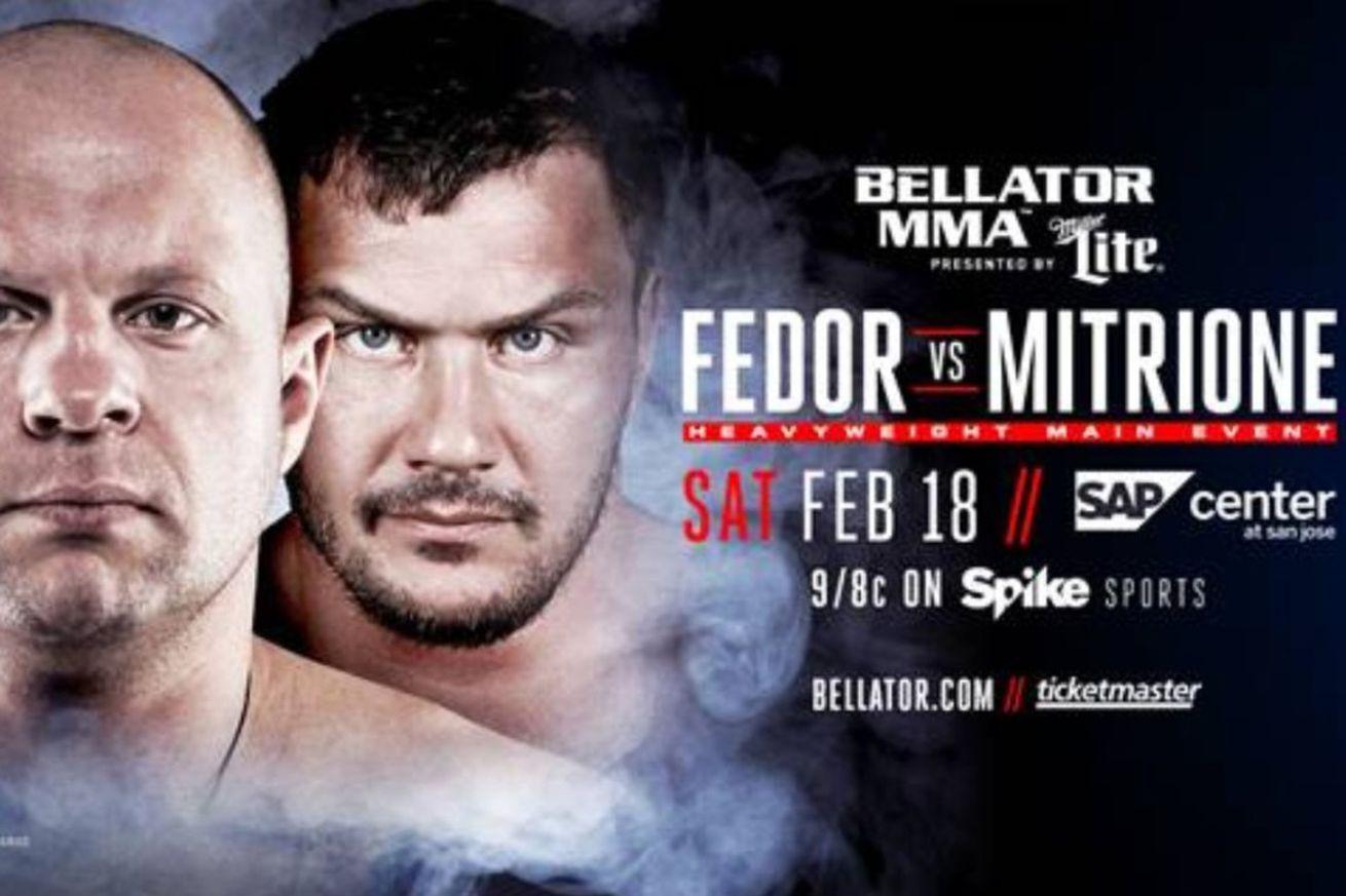 community news, LIVE! Watch Bellator 172 Fedor vs Mitrione pre fight press conference