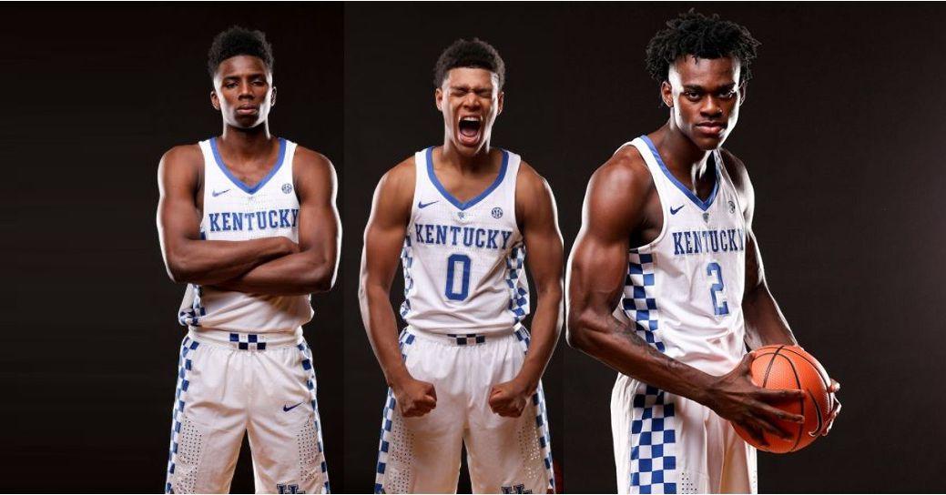 Uk Basketball: Kentucky Wildcats Basketball 2017-18 Team Photo