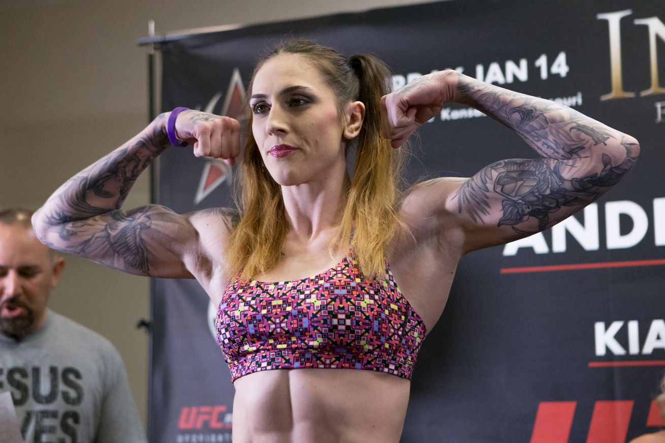 community news, Megan Anderson, Cris 'Cyborg' Justino are both down to fight each other at UFC 214